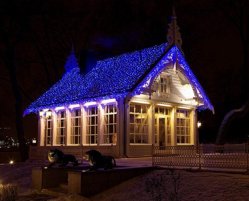 Vánoční LED osvětlení venkovní